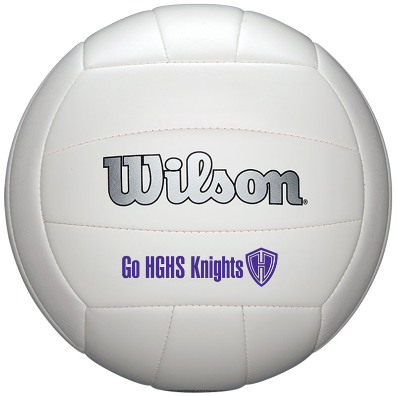 "8 1/4"" Wilson Synthetic Leather Full-Size Volleyballs"