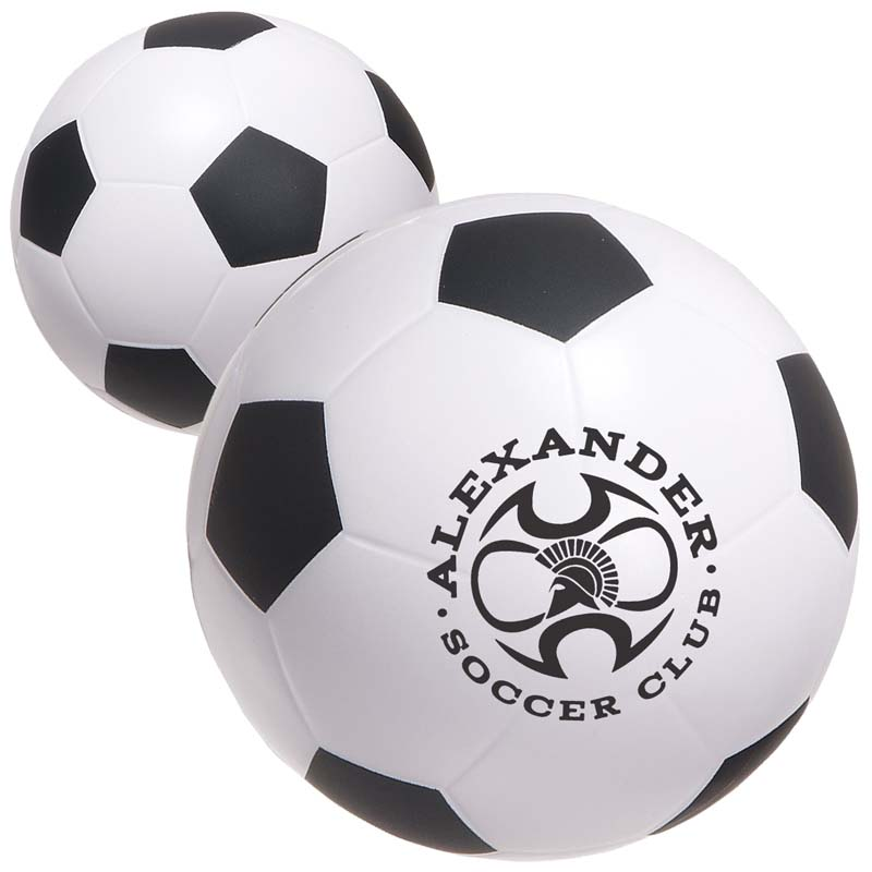 "4"" Stress Mini Soccer Balls (Large)"
