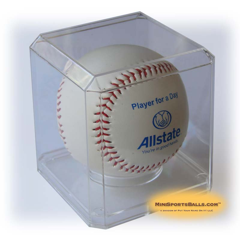 Clear Plastic Baseball Cases