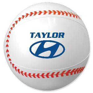 "16"" Baseball Beach Balls - Baseball Beach Ball, 16"""