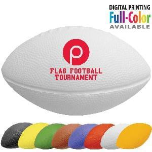"7"" Foam Footballs (Solid Colors) - 7 inch Solid Color Foam Footballs"