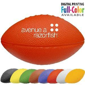 "11"" Foam Footballs (Solid Colors) - 11 inch Foam Footballs"