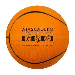 "4"" Foam Mini-Basketballs (Orange) - 4 inch Foam Mini-Basketballs"