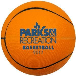 "5"" Foam Basketballs (Orange) - 5 inch Foam Basketballs"