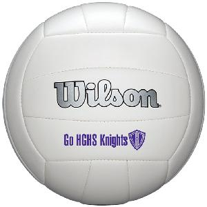 "8 1/4"" Wilson Synthetic Leather Full-Size Volleyballs - Wilson Premium Synthetic Leather Volleyballs"