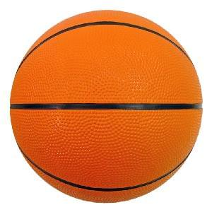 "9"" Rubber Basketballs (Full-Size)"