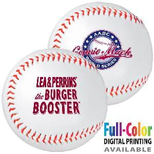 Baseballs, Synthetic Leather with Rubber or Cork Core - Synthetic Leather Baseballs