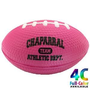 "3 1/2"" Stress Mini Footballs (Awareness)"