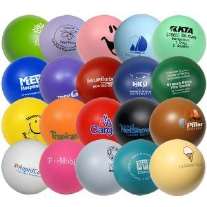 "2.75"" Solid Color Stress Balls - 2.75"" Solid Color Stress Relievers"