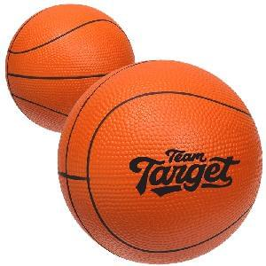 "4"" Large Stress Basketballs - Large (4 inch) Basketballs Stress Relievers"