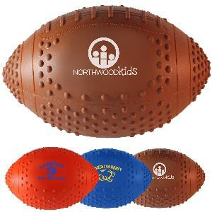 "11"" Vinyl Footballs (Grip) - Soft Vinyl (Rubber like) 11 inch Grip Footballs (3 Colors)"