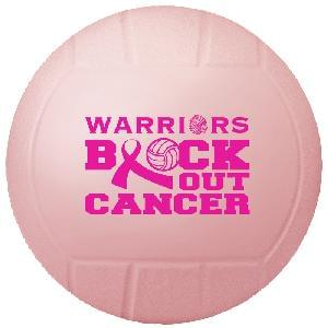 "4 1/2"" Vinyl Mini Volleyballs (Awareness) - 4.5"" Mini Vinyl Volleyballs"