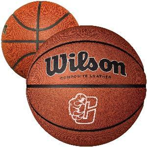 "9"" Wilson Composite Leather Basketballs (Full-Size) - Wilson Full Size Composite Leather Basketballs"
