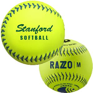 "Softballs, 12"" Wilson® DeMarini Lightning - Wilson® Official Optic Yellow Synthetic Softball"