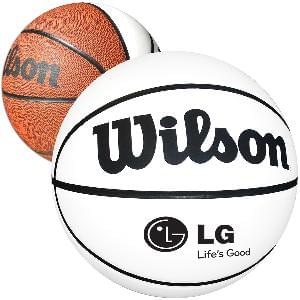 "9"" Wilson Signature Basketballs (Full-Size) - Full Size Wilson Synthetic Leather Signature Basketballs"